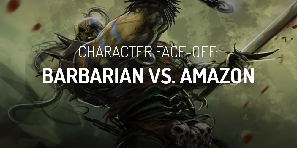 diablo 2 barbarian vs amazon