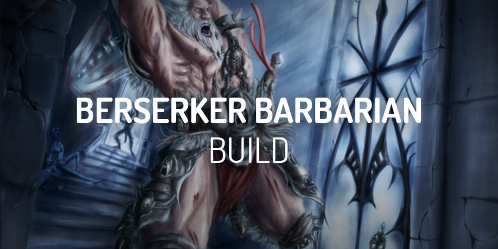 diablo 2 berseker barbarian build