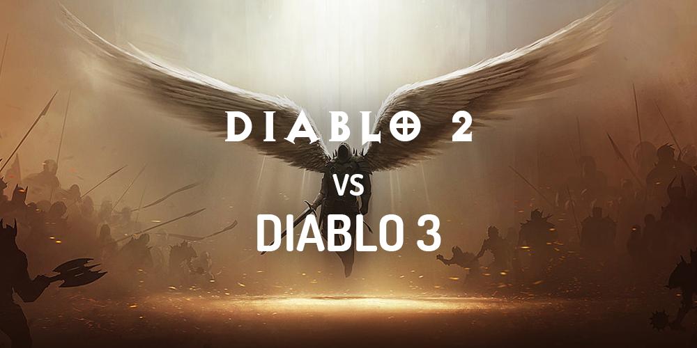 diablo 2 vs diablo 3