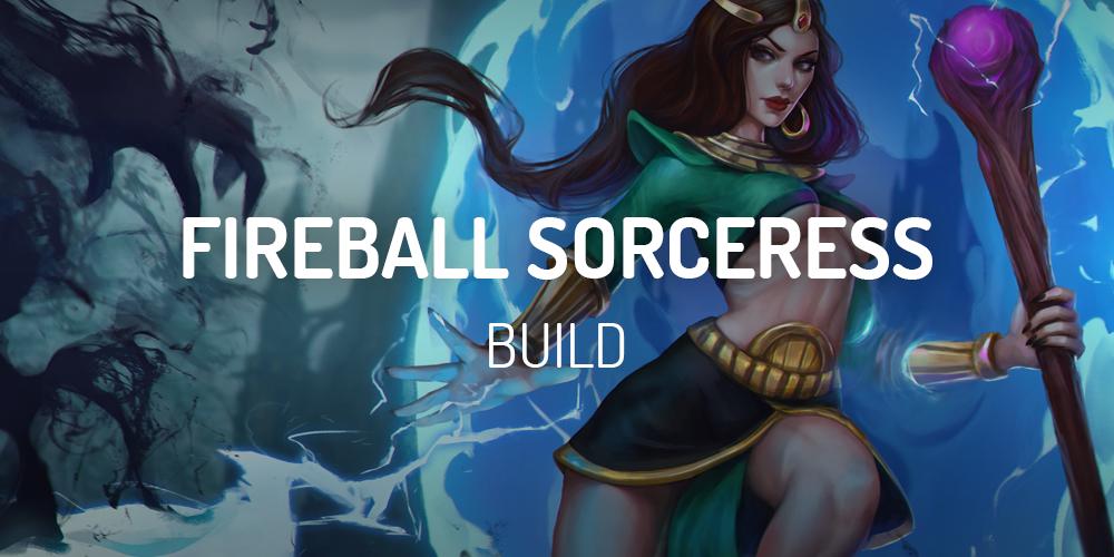 Fireball Sorceress