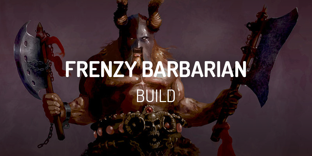 diablo 2 frenzy barbarian build