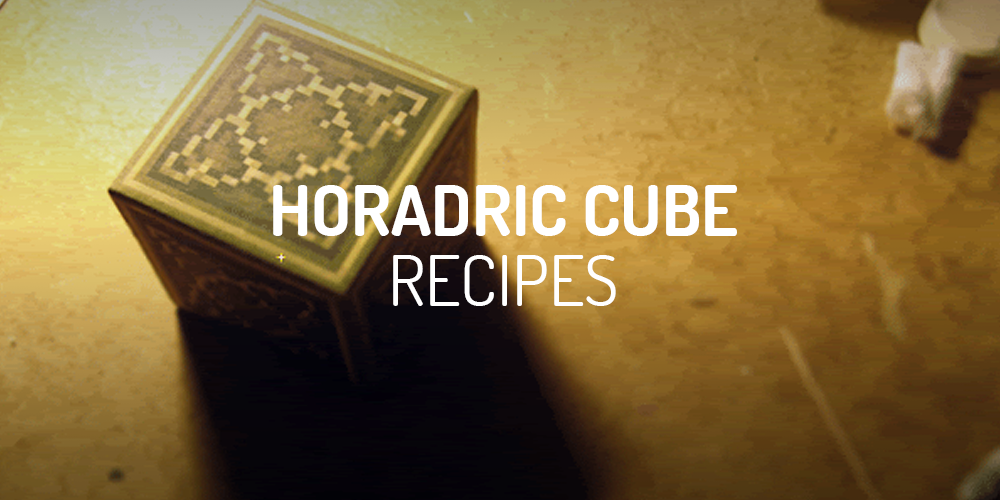 diablo 2 horadric cube recipes