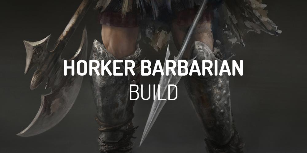 diablo 2 horker barbarian build