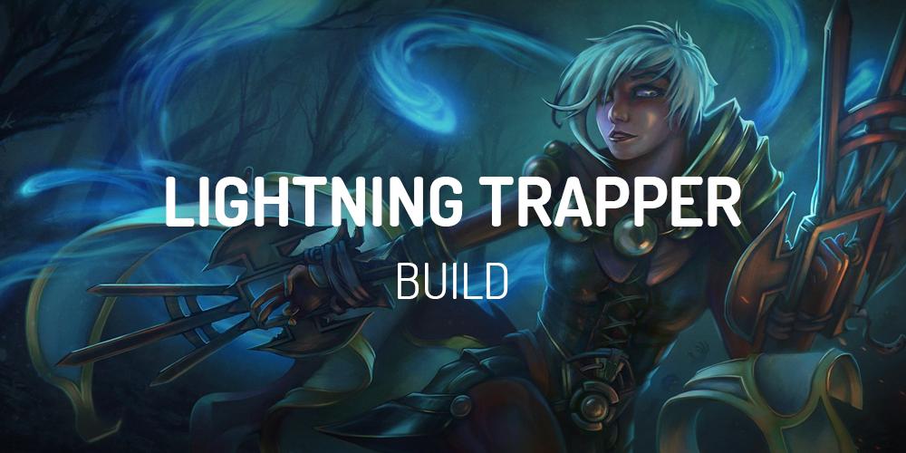 diablo 2 lightning trapper build