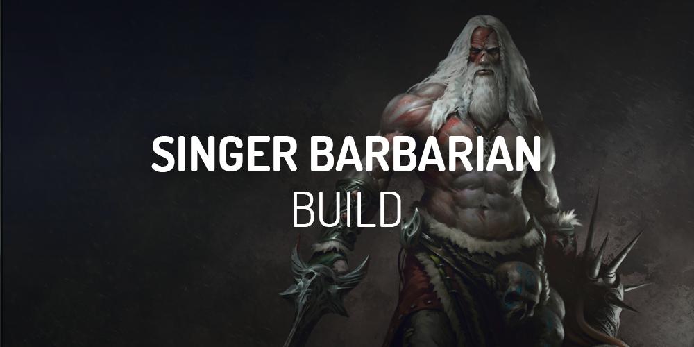 Diablo 2 singer barbarian build
