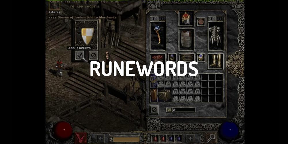 D2 Rune List